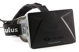 oculus DK1 vue de face Château-arnoux